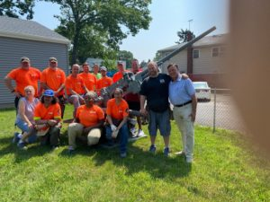 Local union carpenters rebuild VFW